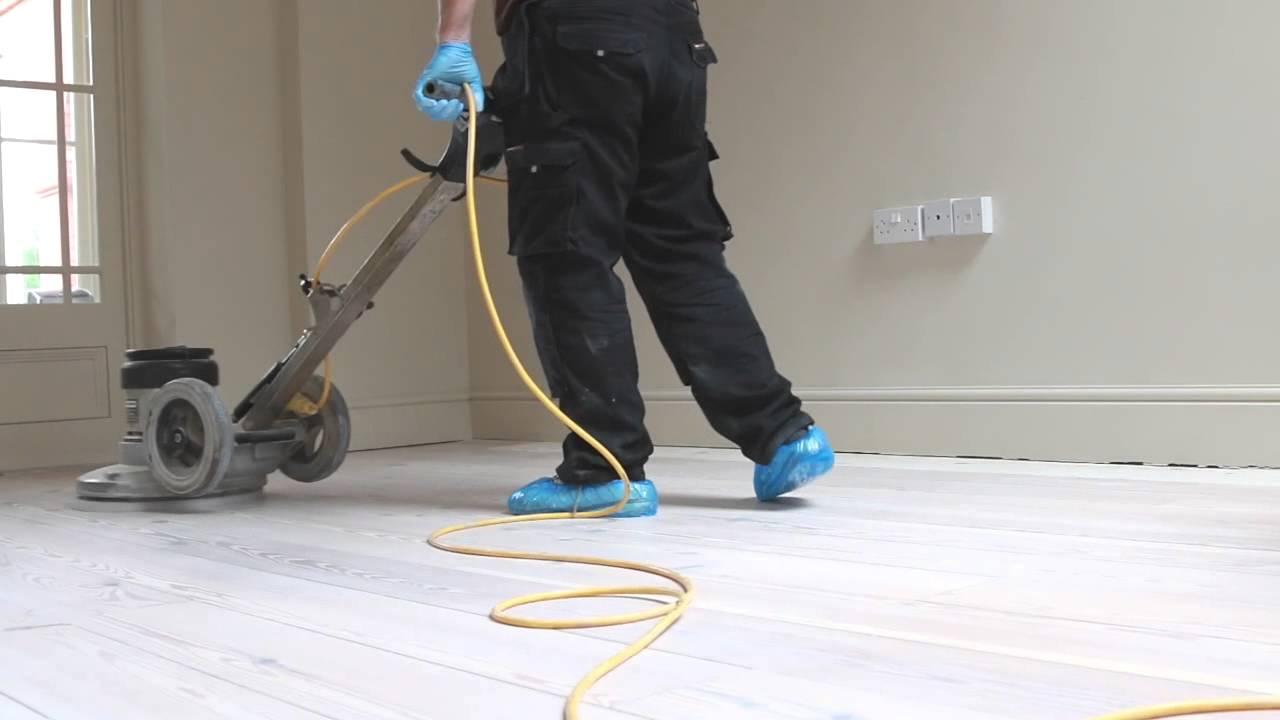 pine wood floor sanding cambridge whitewash finish