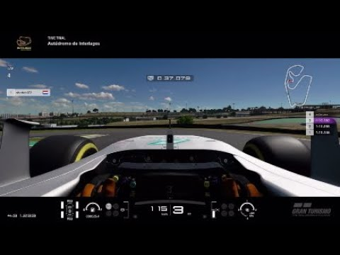 GTS Mercedes F1 W08 Interlagos