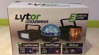 Pack Lumières DJ Entrer De Gamme !!!!