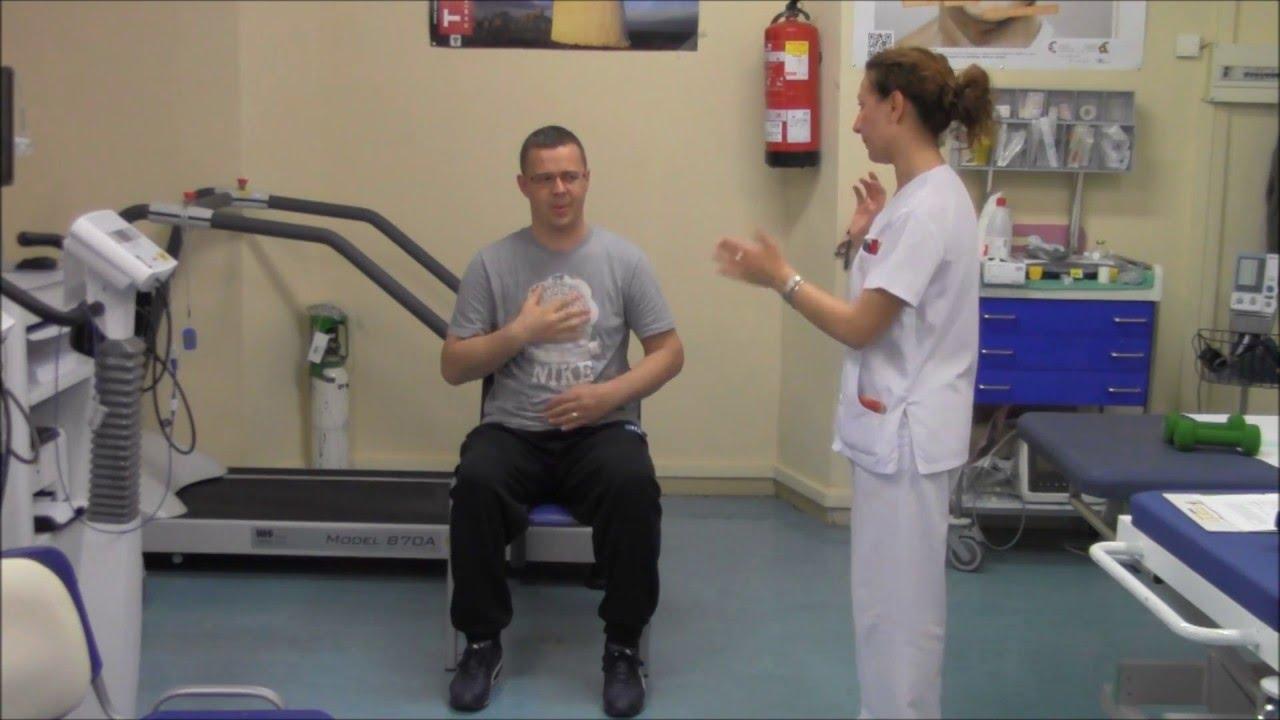 calentamiento 1 - Rehabilitación cardiaca - YouTube