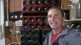 Домашняя Колонка  72 динамика от DL AUDIO 2.1800