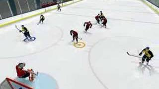NHL 08 uncountable goal