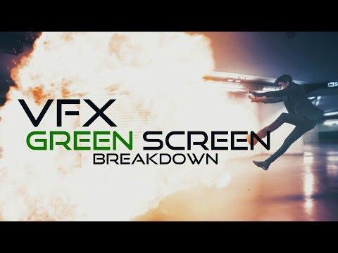 Green Screen VFX Explosion Breakdown [ After effects]  (No Logic Films)