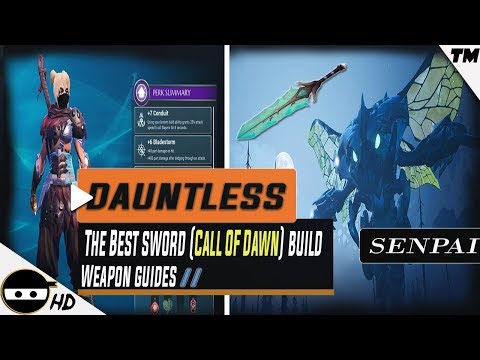 Obby Sword Fighting On Hold Roblox - Dauntless The Best Sword Build Rezakiri Sword Call Of