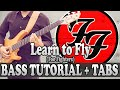 Learn to Fly - Bass TUTORIAL (with tabs) - Foo Fighters