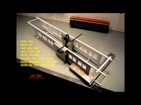 Evergreen Scale Models Car 244 Part One -Body Fabrication