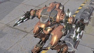 War Robots - Jesse Aphids Gameplay [MAXED]