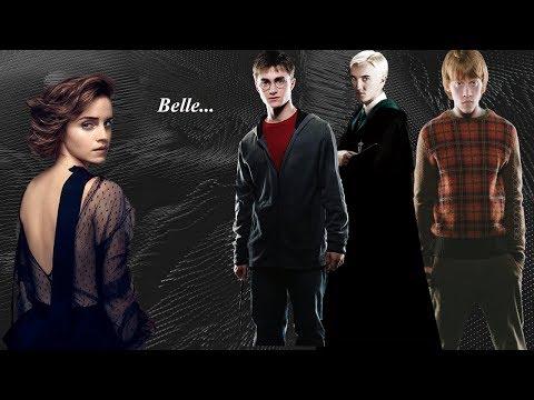 Ron&Harry&Draco&Hermione  Belle