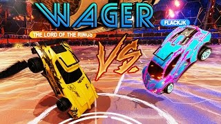 Hunter VS FlackJK   Вагер матч   Rocket League