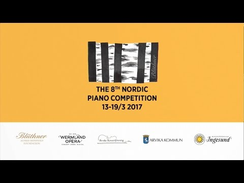 Nordic Piano Competition Round 1, Session 5-8