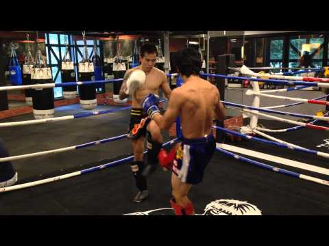 Jun He & Zhenyu Sparring Part 1.