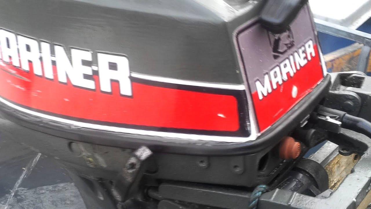 1980 mariner 9 9 hp outboard motor 2 stroke dwusuw youtube for 9 9 hp outboard motors