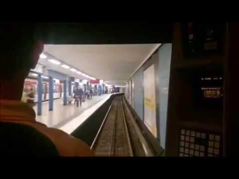 HOCHBAHN - 🚇 Mitfahrt U2 | Niendorf Nord - Jungfernstieg