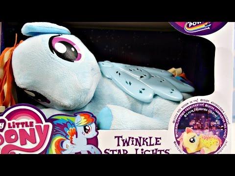 Rainbow Dash - Twinkle Star Lights Plush / Świecący Pluszak - Rainbow Power - My Little Pony - 82612