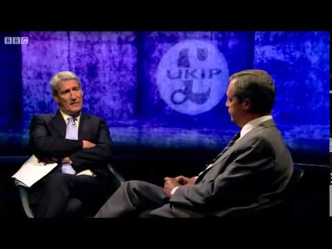 Nigel Farage Vs Jeremy Paxman