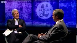 Nigel Farage Vs Jeremy Paxman