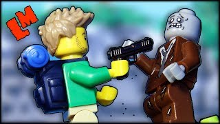 - Лего самоделка Гора Зомби . Кто нибудь выживет