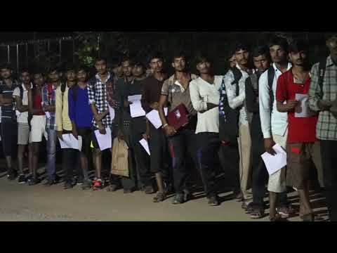 Indian Army Selection Process..Open Rally At Bhavnagar-2017