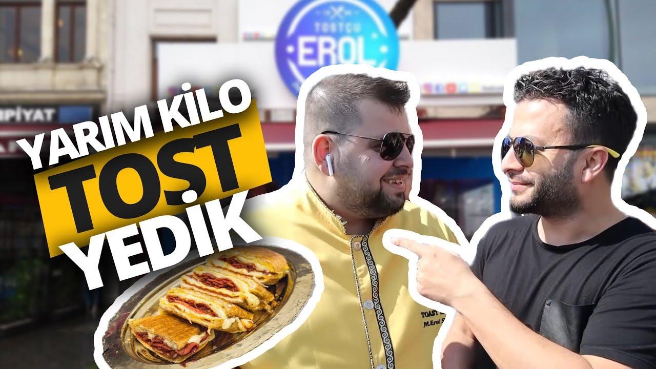 Takipçimize yarım kilo tost ısmarladık! (Video)