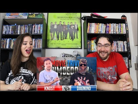 Knost Vs. Dagnino REACTION - Movie Trivia Schmoedown