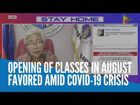 opening-of-classes-in-august-favored-amid-covid-19-crisis