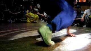 UK Bboy Champs 08 Footwork Battle 2 (GG, Shingo, Cetowy)