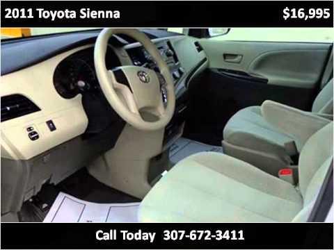 2011 toyota sienna used cars sheridan wy youtube for Sheridan motor buick gmc