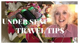 Will Your Bag Fit | Under Seat Pack Hack | Easy Under Seat Air Travel