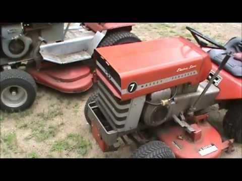 Massey Ferguson Mf 7 Lawn Tractor Youtube