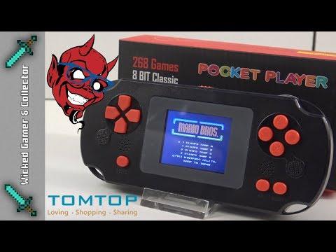 Pocket Player 8-Bit 268 In 1 Ultra Cheap $9 Dollar GameBoy Clone