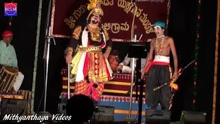 Yakshagana 2017 Hasya - Arun Kumar Jarakala - Gadhayudda 3