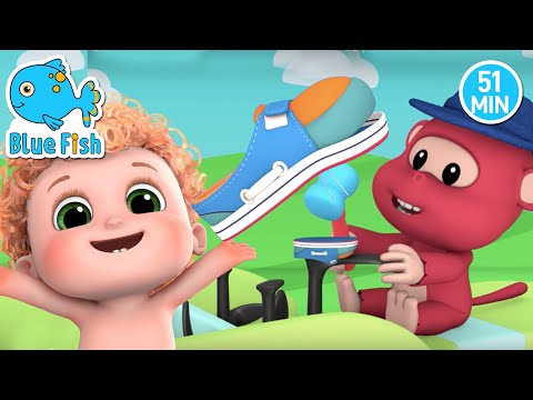 One Two Buckle My Shoe | Number Learning song for Kids | Bundle of Joy