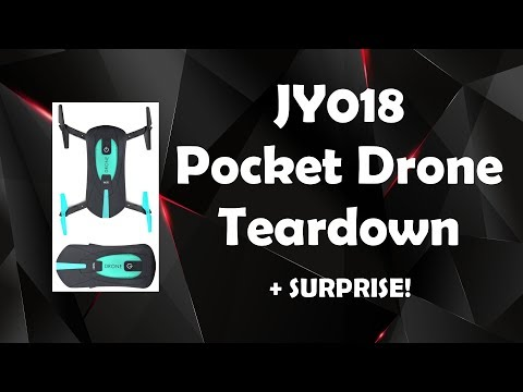 JY018 Pocket Drone Teardown + SURPRISE!