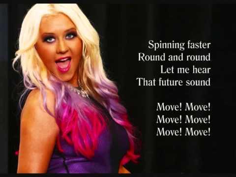 MAKE THE WORLD MOVE (Video Lyrics) - Christina Aguilera feat. Cee Lo