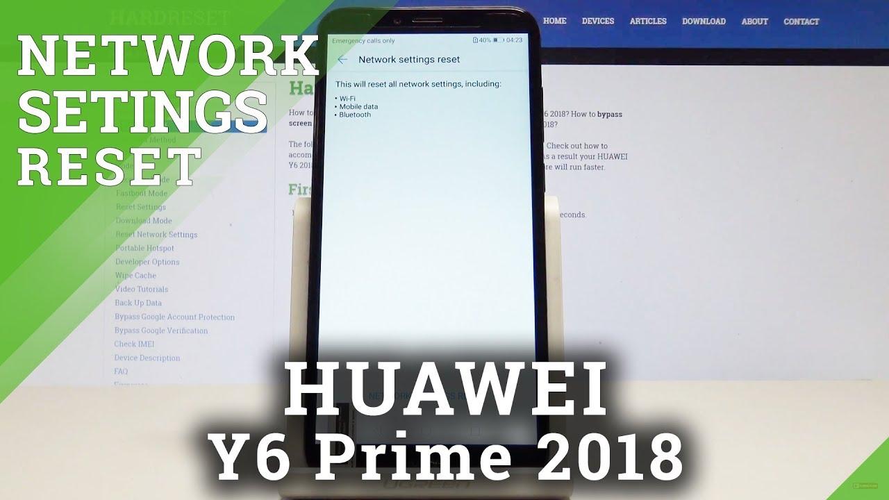 Huawei Y6 (2018) Network Videos - Waoweo