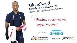 Créateur de vêtements Marne 51100 Reims avec Blanchard