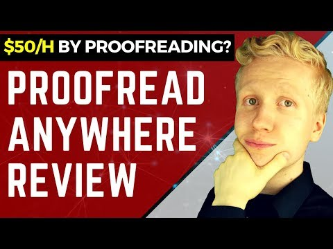PROOFREAD ANYWHERE REVIEW: I Earned $50/hr Proofreading And You Can Too!