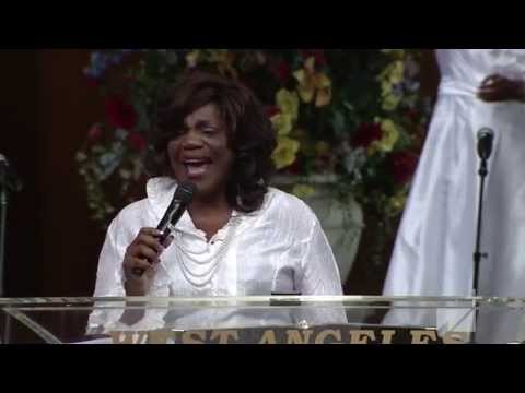 Evangelist Barbara Bryant West Angeles COGIC