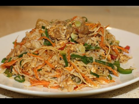 Mongolian Style Fried Rice (Quick & Easy Meals)