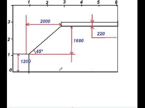 Как изготовить лестницу из дерева.Как расчитать количество ступеней на лестничном марше 2 часть