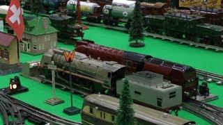 Faszination Modellbahn Sinsheim 2013 - Nostalgie Märklin Spur-0 Anlage