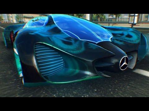 Asphalt 8 Mercedes-Benz Biome vs Mercedes-Benz Silver Lightning 32 Racers Infected Barcelona