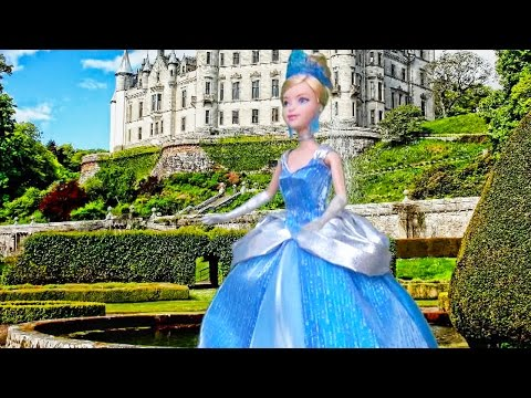 Cinderella Story for Kids  Toys and Dolls Fun Pretend Play  SWTAD Kids