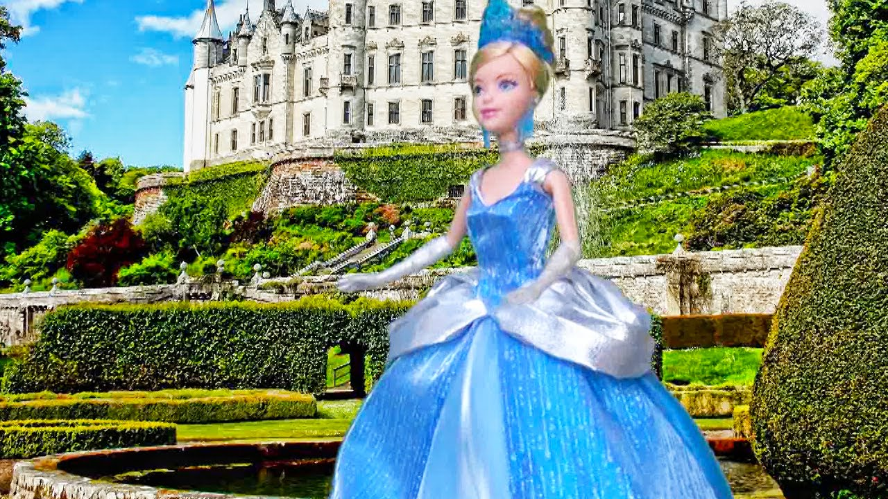 Cinderella Toys And Dolls Fun For Kids Playing With