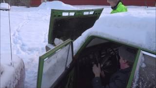 Lada 2103 1975 cold start