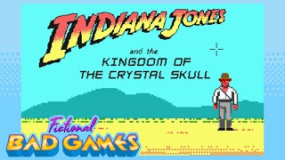 Indiana Jones and the Kingdom of the Crystal Skull: The Graphic Adventure - Fictional Bad Games