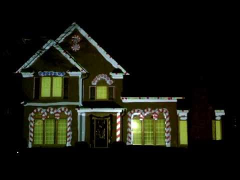 Christmas Projection For Home 2010 Doovi