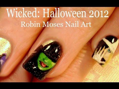 Wicked nail art youtube prinsesfo Choice Image