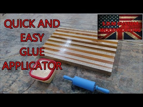 quick and easy glue applicator