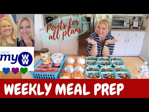 weekly-meal-prep-|-bacon,-egg,-&-cheese-breakfast-muffins-|-bbq-meatloaf-balls-|-ww-|-lose-weight